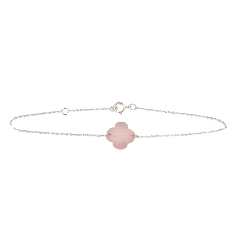 Bracelet pierre fine chaine or