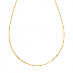 Collier Omega Or jaune 8g