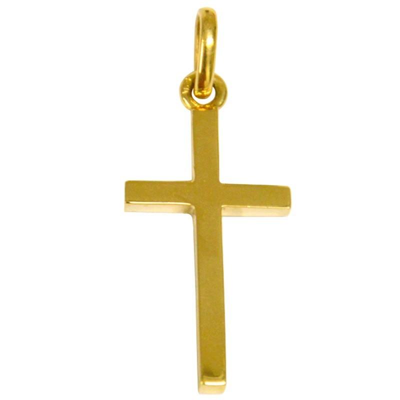 Grande Croix massive en or