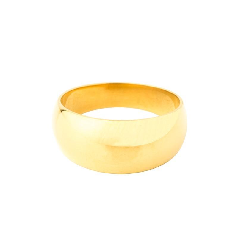 Chevalière anneau romain hauteur 10mm