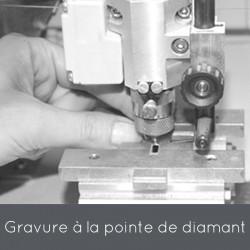 Gravure Machine à la pointe de diamant - Orfèvrerie