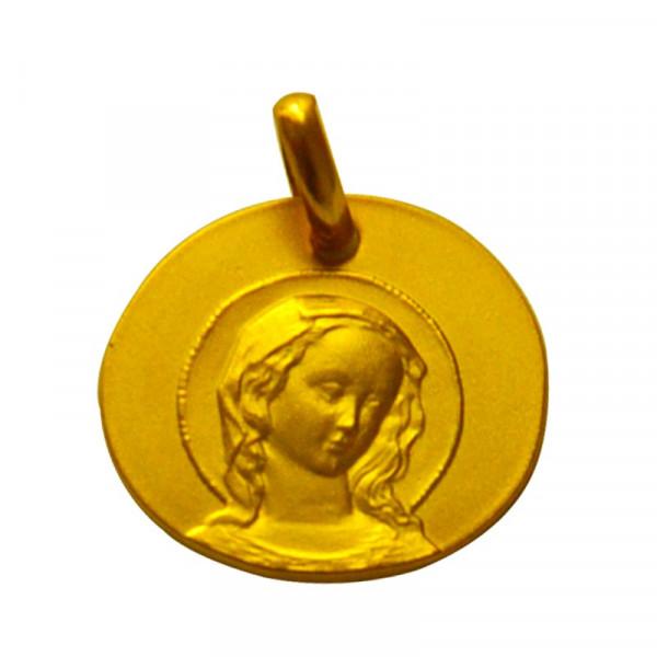medaille bapteme virgo amabilis or jaune