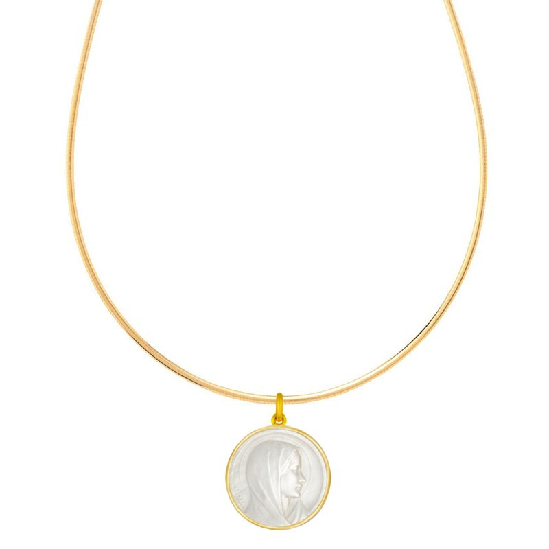 Collier Omega Or jaune