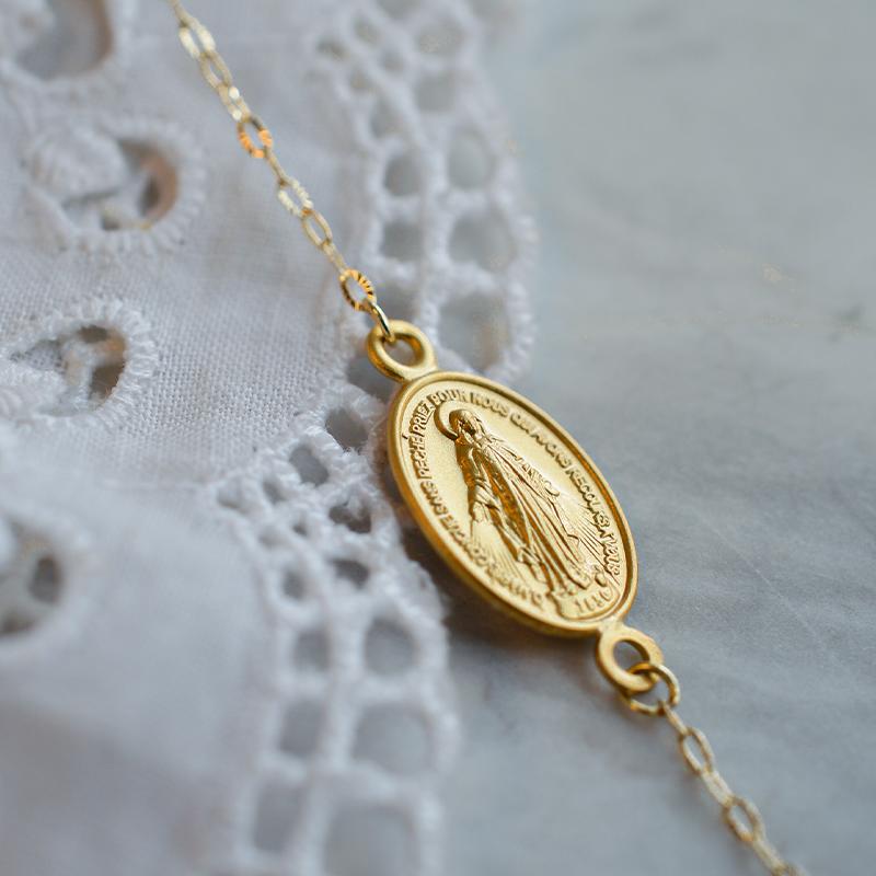 Bracelet miraculeuse en or