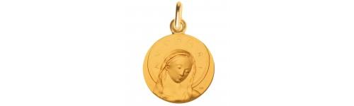 medaille bapteme Fra Angelico or