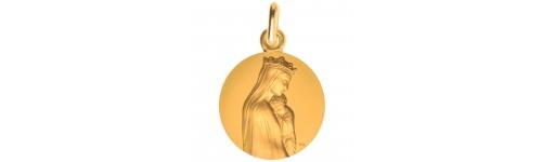 medaille-bapteme-notre-dame-sagesse-or
