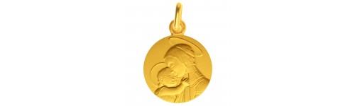 Medaile bapteme Vierge de Botticelli