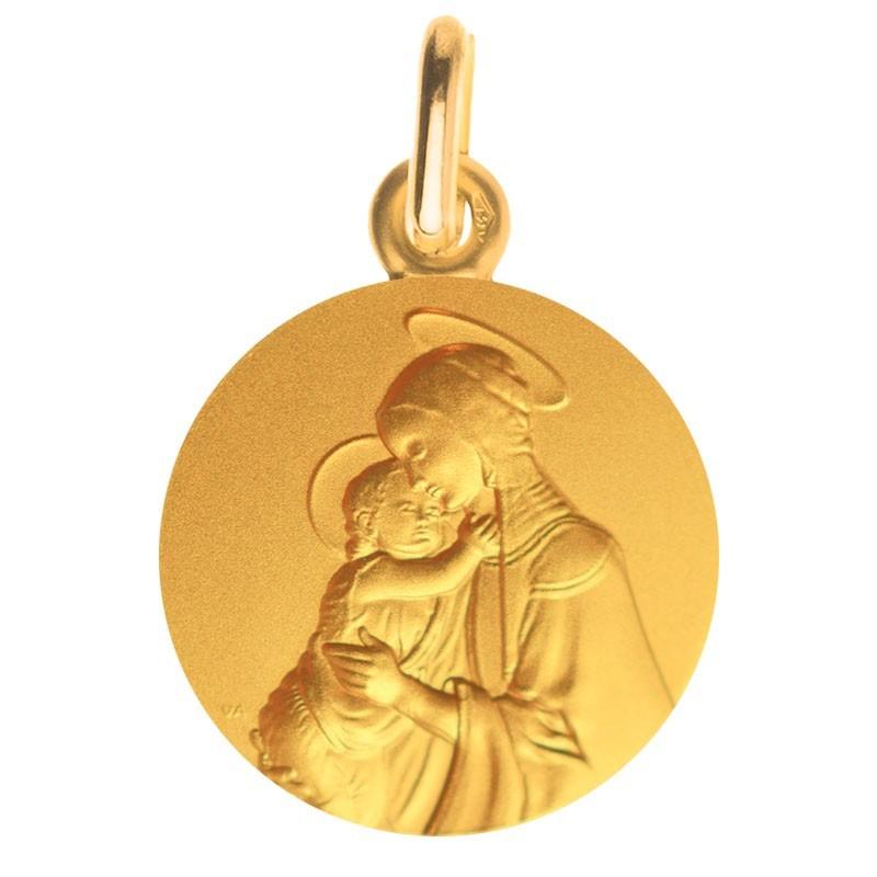 Medaille bapteme Vierge de Botticelli
