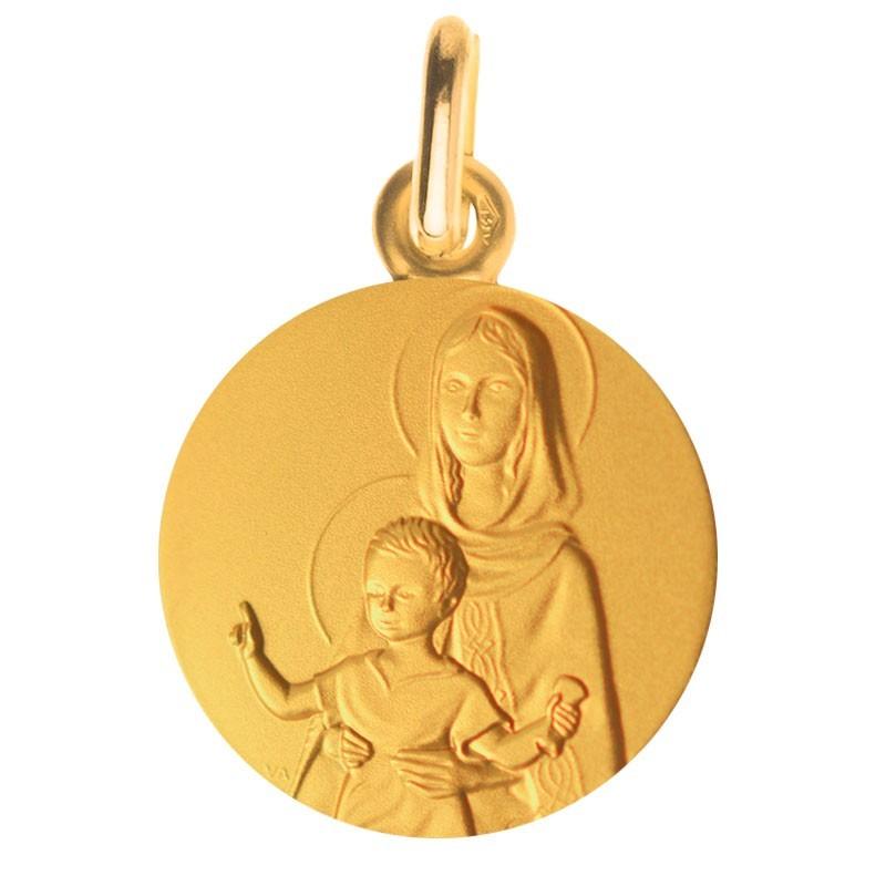 Vierge à l'enfant bénissant