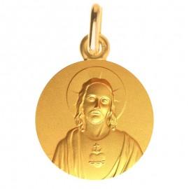 Medaille bapteme Coeur-Sacré