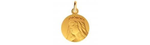 medaille bapteme Nostre Dame de Grasse