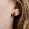 Boucles d'oreilles trèfle