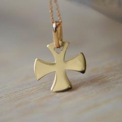 Mini croix évasée