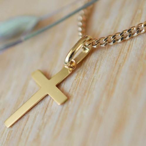 Mini croix de bapteme latine