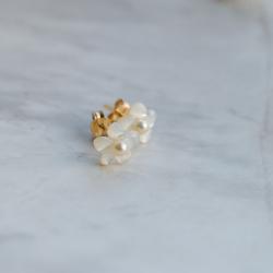 Boucles d'oreilles Edelweiss