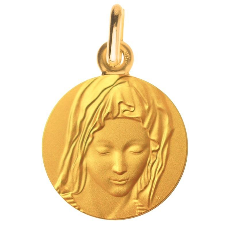 Medaille de bapteme : Vierge de Michel-Ange