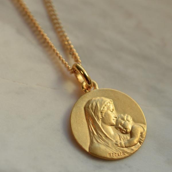 medaille bapteme Maternité