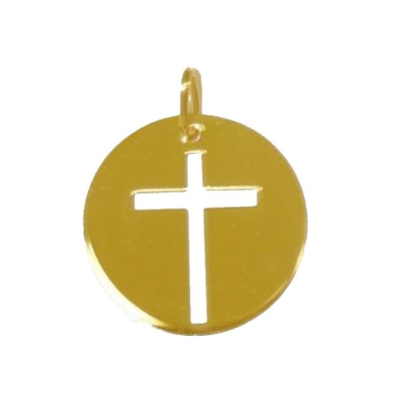 Croix fine ajourée