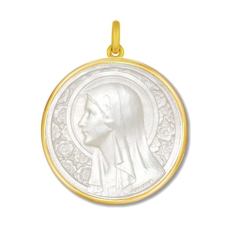 Vierge à l'Eglantier nacre