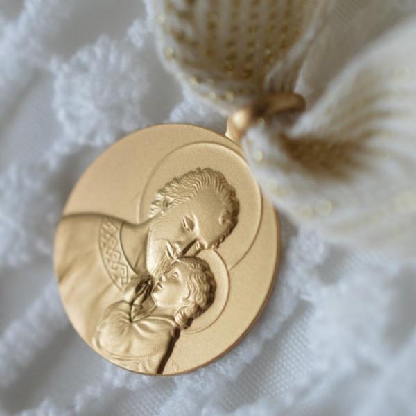 Medaille bapteme Portrait de Saint Joseph Protecteur