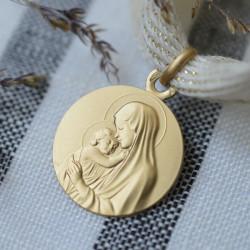medaille bapteme Madone de Botticelli