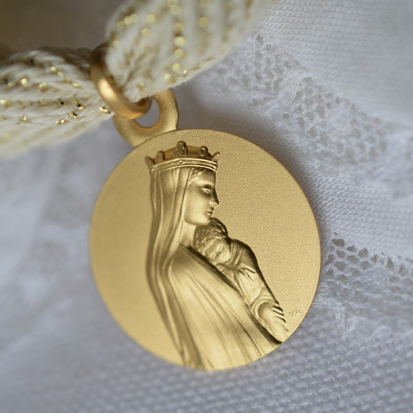 Medaille bapteme Notre-Dame de la Sagesse