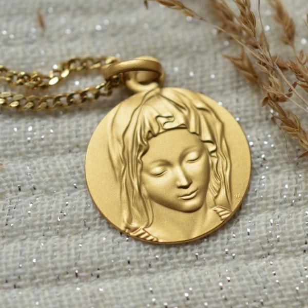 Medaille bapteme Vierge de Michel-Ange
