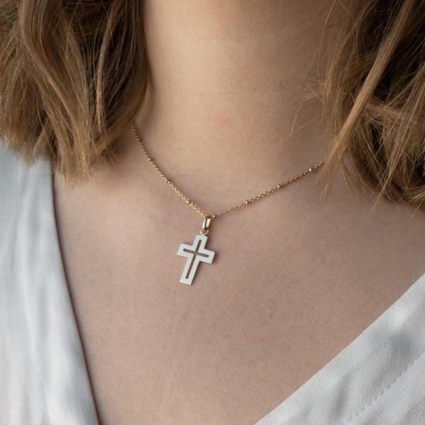 Croix de bapteme Pentecôte