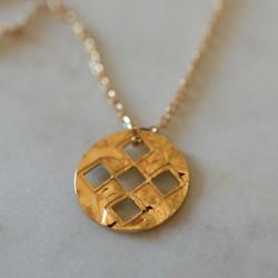 Collier pendentif Aztèque