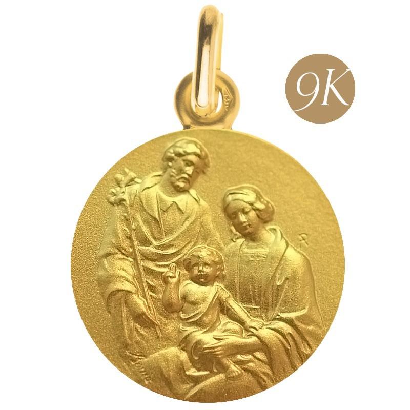 Sainte Famille au lys 9 carats