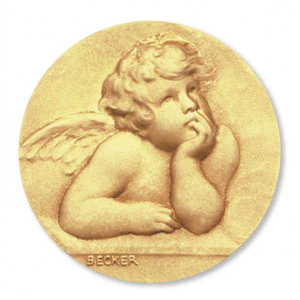 mini medaille bapteme Ange Raphaël