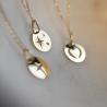 Bijou pendentif Mini croix étoilée