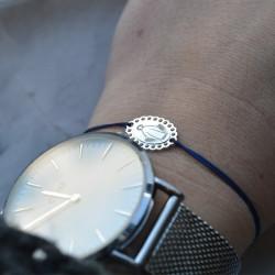 Bracelet Ma bonne étoile plaqué or ajouré