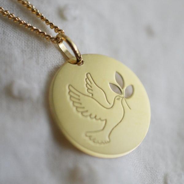 Médaille Colombe aux Rameaux