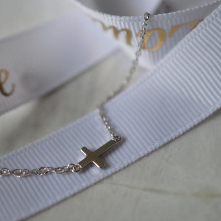 Bracelet mini croix
