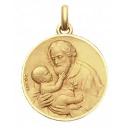 mini medaille bapteme Saint Joseph