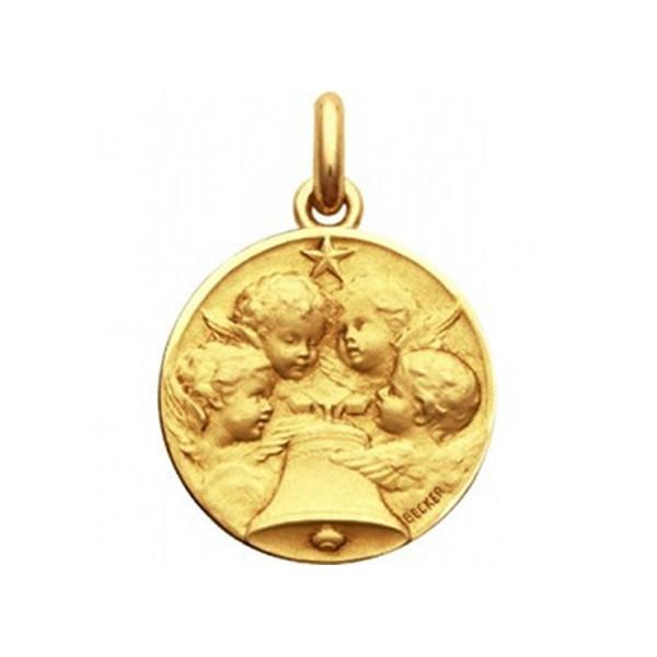 mini medaille bapteme Angelus