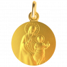 medaille bapteme Vierge à l'enfant roi