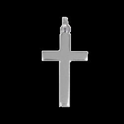 Croix massive en argent