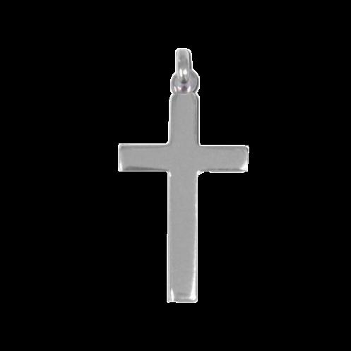 Croix de bapteme massive en argent