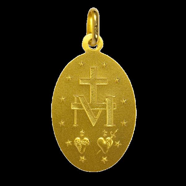 Medaille bapteme Marie conçue sans péché