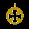 Croix bapteme croix évasée