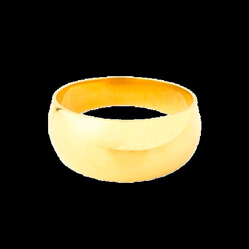 Chevalière sur or anneau romain hauteur 10mm