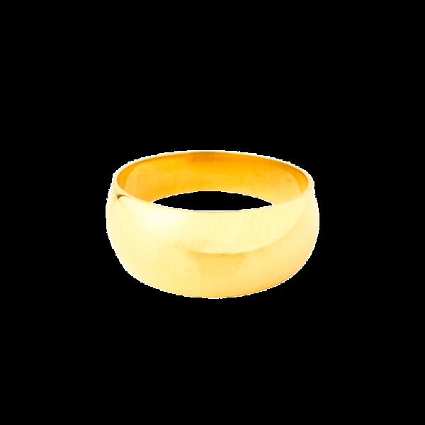 Chevalière anneau romain hauteur 8mm
