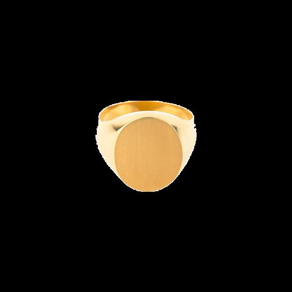 Chevalière Femme ovale 13x11