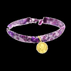 mini medaille bapteme Vierge à l'Eglantier