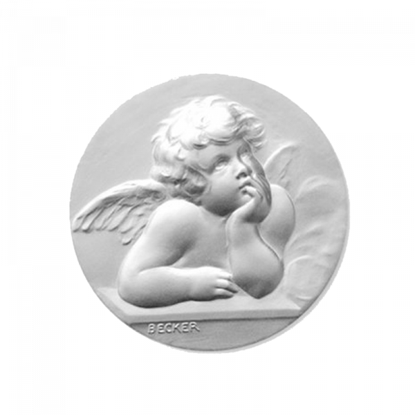 Medaille de berceau Ange Raphaël