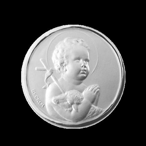 Medaille de berceau St Jean