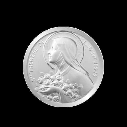 Medaille de berceau Thérèse de l'Enfant Jésus