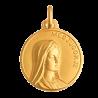 Medaille bapteme Vierge de Medjugorje